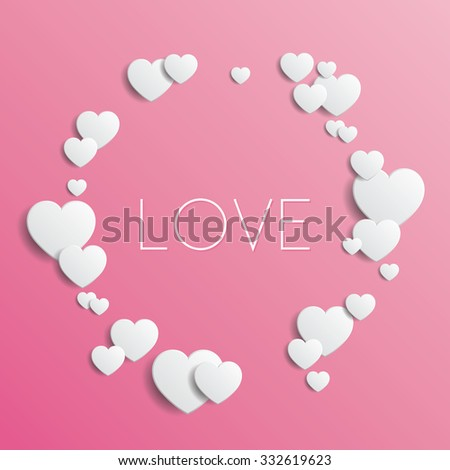 love   vector illustration with