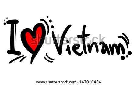 Love Vietnam #147010454