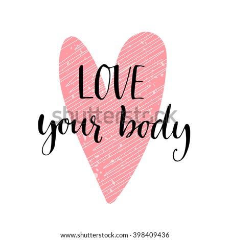love your body phrase