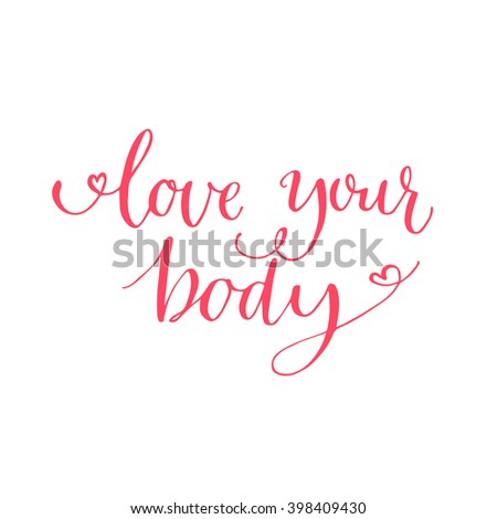 love your body text