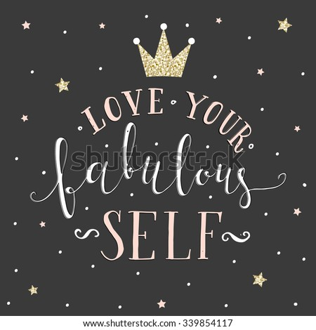 Love your fabulous self.
