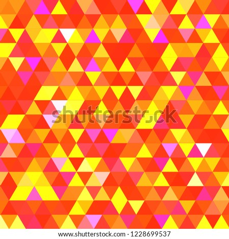 Lovely abstract background multicolor simple seamless triangle.