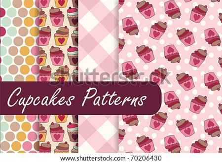 Lovely Cupcakes Patterns