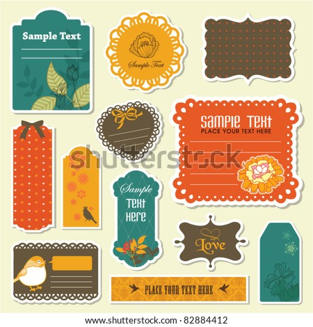lovely gift tags collection