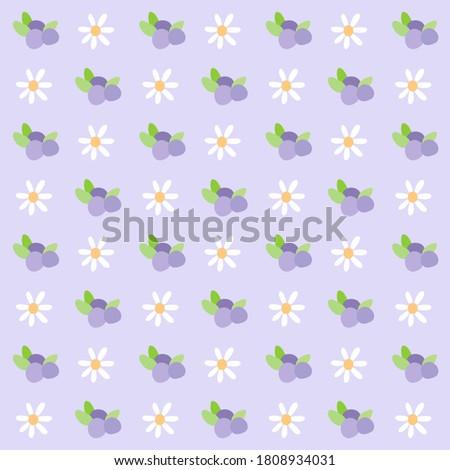 lovely grape and tulip flower