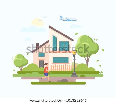 lovely house   modern flat