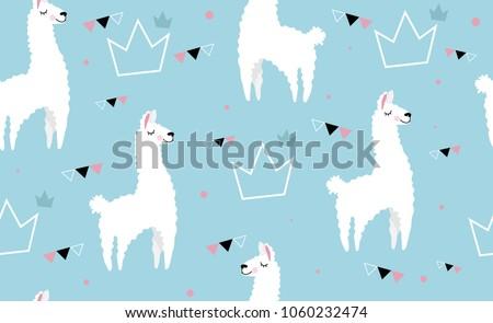 lovely llamas  cute hipster