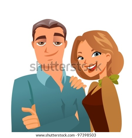 stock vector lovely mature couple 97398503 Download Bad Girls 3 Android free game. Get full version of Android apk app ...