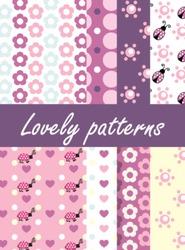 lovely pattern set
