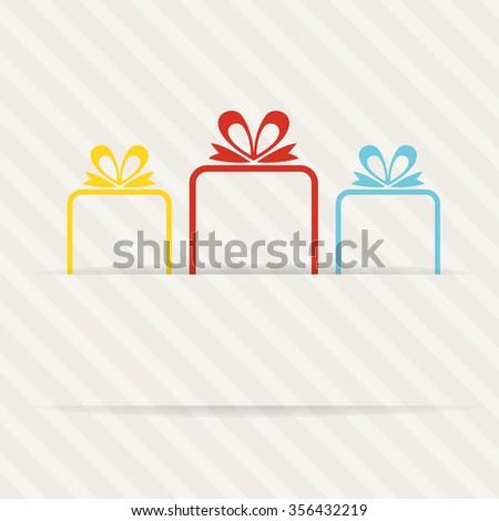 lovely present design