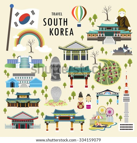 lovely south korea attractions