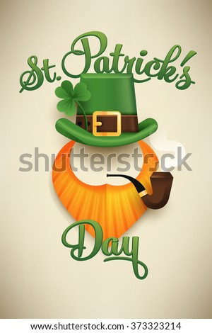 Shutterstock puzzlepix for Leprechaun mask template
