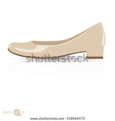 low heels shoe