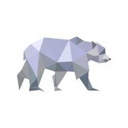 Low Poly bear.
