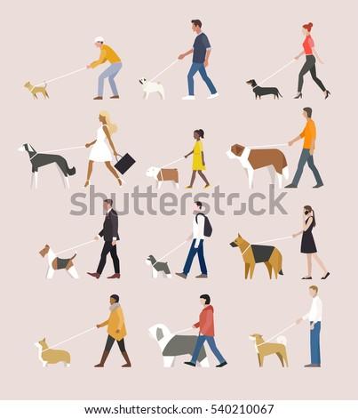 low poly geometric animal dog