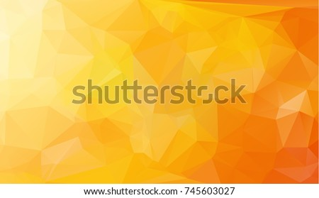 low poly geometric background consisting of triangles of different sizes and colors