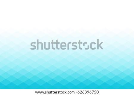 low polygonal background  blue