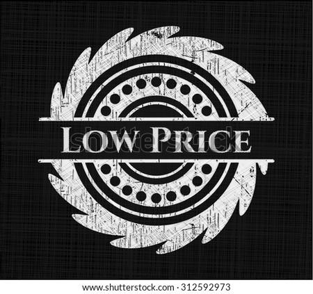 Low Price chalkboard emblem