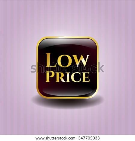 Low Price golden badge