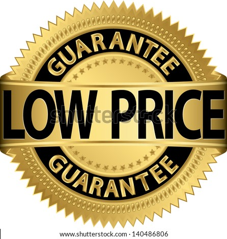 low price guarantee golden label