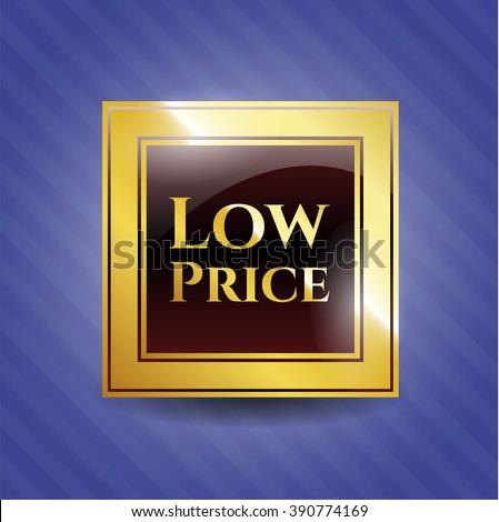 Low Price shiny badge