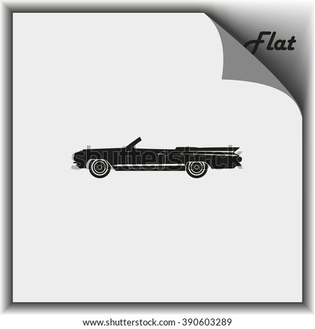 lowrider illustration flat