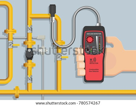 LPG NGV Gas natural leakage detector detection measurement tester industry residential semiconductor inspect hydrogen protection prevent display pipeline tracer operation fuel explosion defect energy