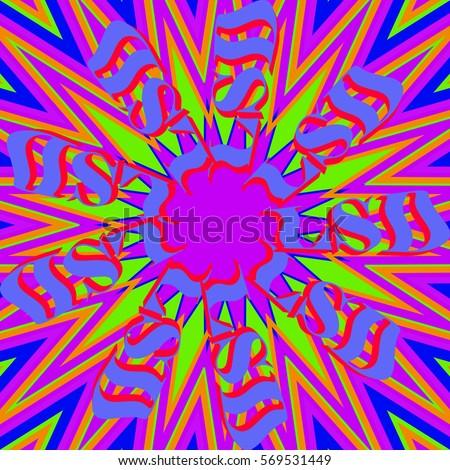 lsd vivid psychedelic