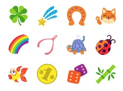 Lucky Charm Icons