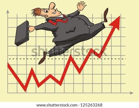 lucky stock market investor