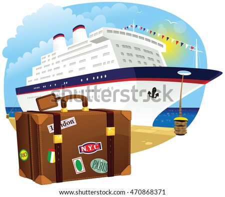 luggage and cruise liner A cruise with no clothes the same limits apply for damaged luggage as to lost luggage tell the cruise line staff that your airline lost your luggage.