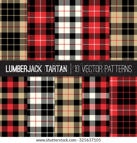lumberjack tartan and buffalo