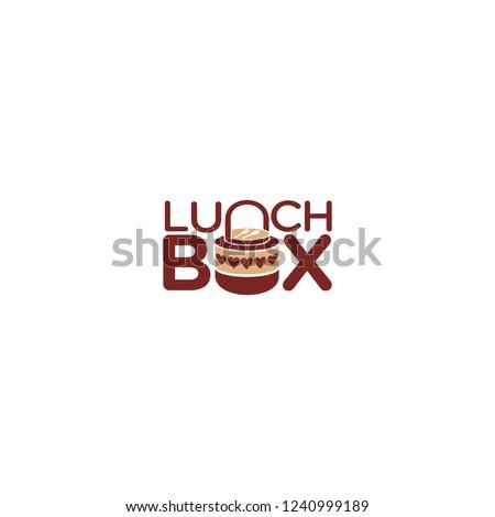 lunch box lunch box logo lunch box vector