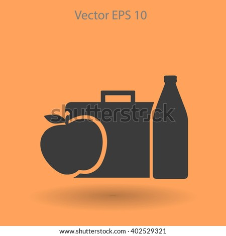Lunch vector icon