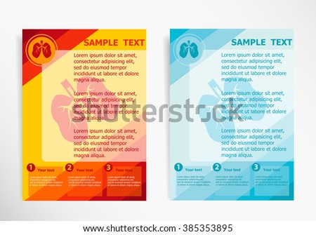 Asthma Flyer Template Download Free Vector Art Stock Graphics