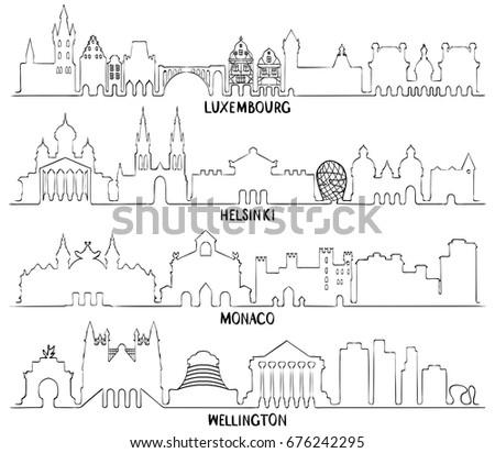 luxembourg  helsinki  monaco