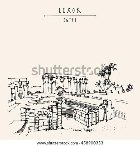 luxor temple  egypt ancient