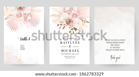 luxurious beige and blush