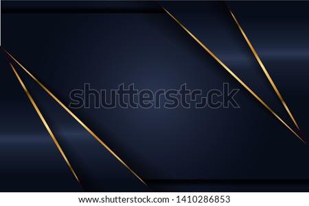 luxurious dark navy background. elegant  modern background. eps vector Foto stock ©