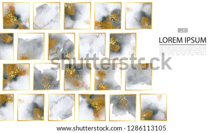 luxury background with gold and