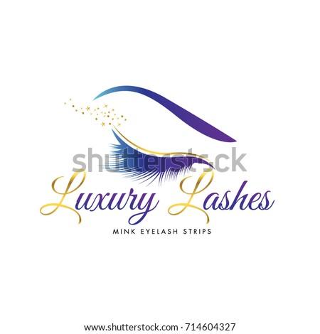 Luxury Beauty Eye Lashes Logo