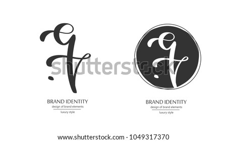 Luxury Brand Line Logo With Lowercase Q E And T Letters Combination Classic