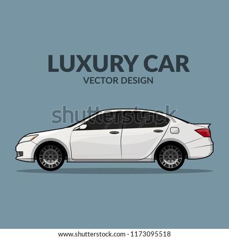 luxury car   vector design