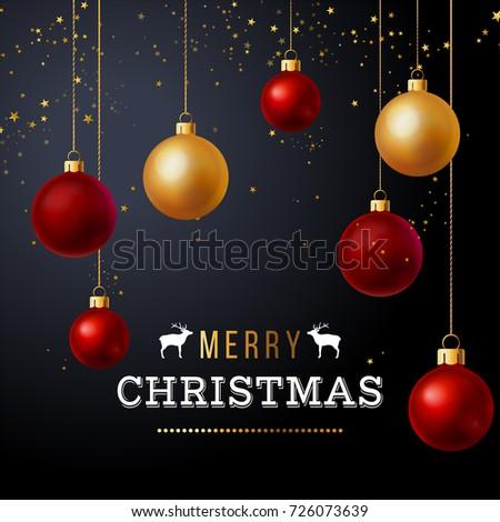 luxury christmas design with