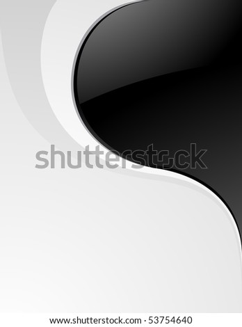 Luxury clean black and white background