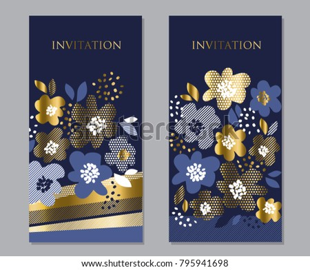 luxury concept floral pattern