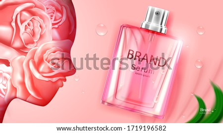 luxury cosmetic bottle package
