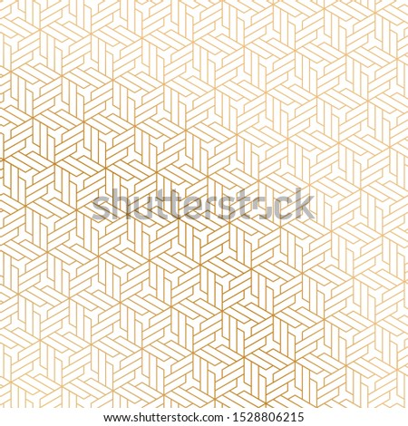 luxury design gold and white geometric pattern in Islamic style. beautiful isometric design for fabric, textile, backgrounds, wallpapers, backdrops, covers, posters and banners. festive backdrop