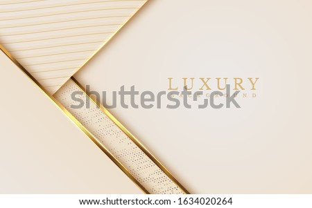 Luxury Gold Background with metal texture and Expensive mustard shades in 3d abstract style. Illustration from vector about modern template design for strong feeling and technology and futurism.