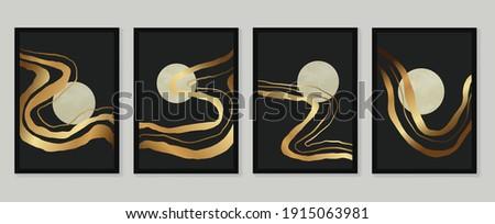 luxury gold wallpaper  black